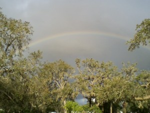 Pre Hurricane Irma Rainbow Over Davenport Florida