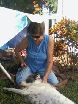 Mom-Gardening