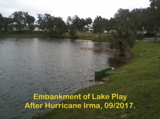 Lake Play never breached.