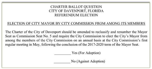 ordinance 881 ballot question