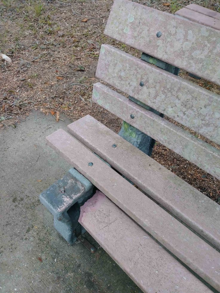 A Damaged Bench