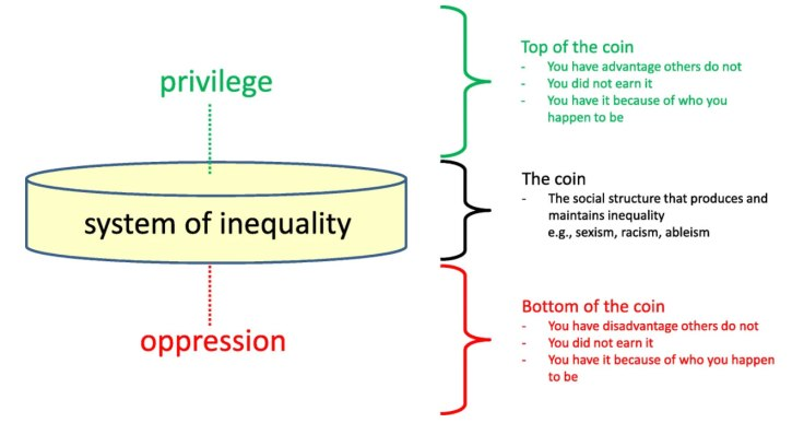 The coin model of privilege and critical allyship: implications for health